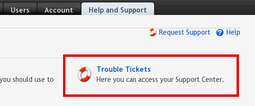 Trouble Ticket Icon
